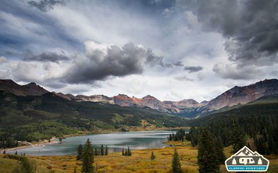 Telluride, CO, Matterhorn Campground, Fall 2015